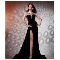 Kadife Abiye Elbise Modası