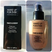 Make Up For Ever Face And Body Fondöten