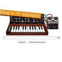 Robert Moog İçin Google'dan Doodle