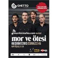 Mor Ve Ötesi'den Yeni Albümün İlk Konseri Canlı!