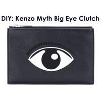 Diy: Keçeden Çanta Yapımı - Kenzo Big Eye Clutch