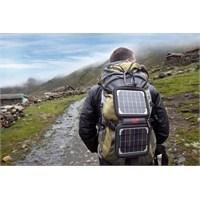 Sırtta Taşınabilir Güneş Enerjisi Şarj Cihazı