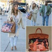 Kim Kardashian'ın Noel Hediyesi Hermes Çantası