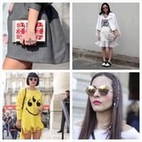Paris Fashion Week İlkbahar/ Yaz 2014 Sokak Modası