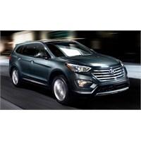 Yedi Koltuklu 2013 Hyundai Santa Fe Los Angeles'da