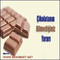 Çikolatanın Yararları Çok