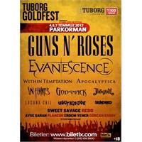 Guns N' Roses Biletleri Satışa Çıktı