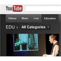 Youtube Eğitim Sayfası Açıldı