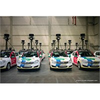 """Google'ın """"Street View"""" Arabaları ..."""