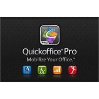 Google, Quickoffice'i Resmen Satın Aldı