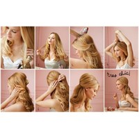 Günlük Saç Toplama Şekilleri