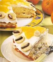 Portakallı Pasta(hazır Kekle)