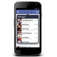 Android İçin Facebook Uygulaması Yenilendi
