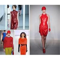 2012 Sonbahar Kış Moda Trendi: Kırmızının Tonları
