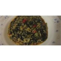 Fazlıkızından Kırmızı Biberli Pirinçli Ispanak
