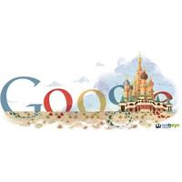 St. Basil's Cathedral İçin Özel Google Logosu!