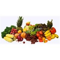 Sebze Ve Meyveyi Mevsiminde Yiyin