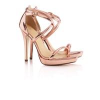 Rose Gold Trendi Ayakkabılarda