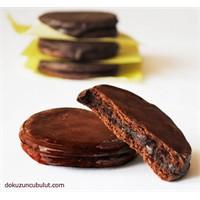 Naneli Çikolatalı Kurabiyeler