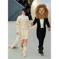 Chanel Paris Haute Couture 2011 Sonbahar / Kış kol