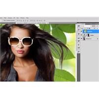 Photoshop'ta Detaylı Saç Temizleme