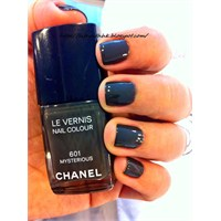 Chanel #601 Mysterious Oje Uygulamam