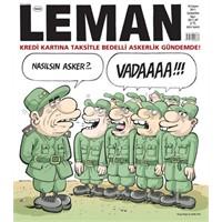 Leman Dergisi Bedelli Askerlik Konulu Kapağı