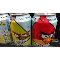 Angry Birds İçecekleri Yurt Dışında Satışta!