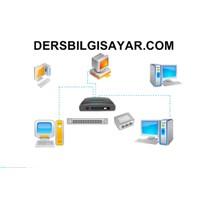 İki Bilgisayarı Ethernet Kartı İle Hubsız Rj-45