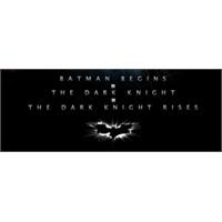 Batman Üçlemesinin Afişleri