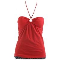 Kırmızı Dekolte Bustiyerler, Elbiseler