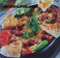 Kiremitte Söğürme Kebabı