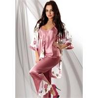 Bayan Saten Pijama Modelleri