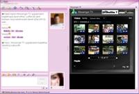 Msn Live Messenger'da Hem Sohbet Hem Tv