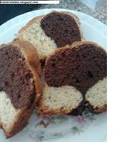 Kakaolu Toz Haşhaşlı Kek..
