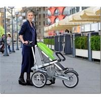 Hem Bebek Arabası Hem De Bisiklet