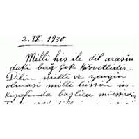 Atatürk 'ün El Yazısını Font Olarak Kullanın