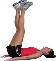 Mide Ve Bacak Kasları İçin Egzersizler !