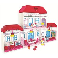 Mega Bloks-hello Kitty Construction Toys