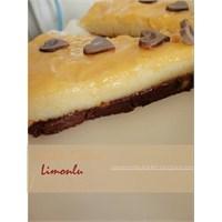 Nutella Tabanlı Limonlu İrmik Pastası