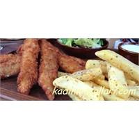 Çıtır Parmak Tavuk Tarifi (Chicken Fingers)