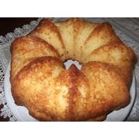 Limon Aromalı - Hindistan Cevizli Kek