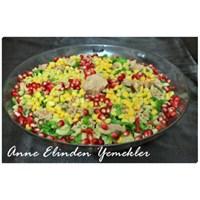 Anne Elinden Makarna Salatası