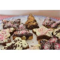 Çikolata Kaplamalı Kurabiyeler
