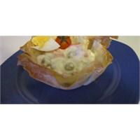 Fazlıkızından Yufka Kasede Rus Salatası