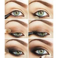 Gölgeli Göz Makyajı Nasıl Yapılır?