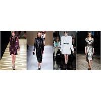 2013 Sonbahar / Kış Modasının Öne Çıkan Parçaları
