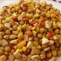 Kızartılmış Nohut Salatası (Resimli Anlatım)