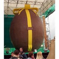 Dünyanın En Büyük Çikolata Yumurtası.