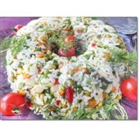 Pirinç Salatası Çin Pilavı Tarifi